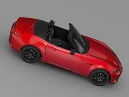 mazda sports car models mazda roadster nd 2017 3d model cgtrader