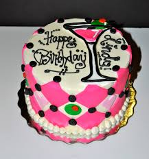 pink martini shaped birthday cake random cakes for friends and