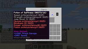 Minecraft Blindness Potion Mc 49665 Summon Custom Villager With Custom Potion Trade Doesn U0027t