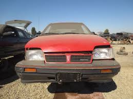 Will Pontiac Ever Return Junkyard Find 1988 Pontiac Lemans The Truth About Cars