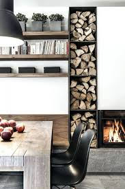 fireplace classy modern fireplace shelves for living space