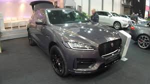 jaguar jeep jaguar f pace r sport suv grey colour walkaround and