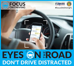 distracted driving awareness florida highway safety and motor