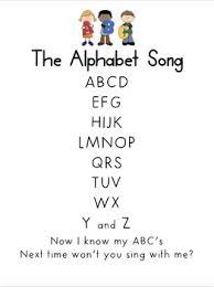 printable lyrics the alphabet song printable lyrics by miss vanessa tpt