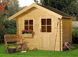 petit chalet de jardin pas cher abri jardin bois esthétique écologique montage facile kit