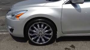 nissan altima accessories 2014 2014 nissan altima with b15 chrome finish youtube