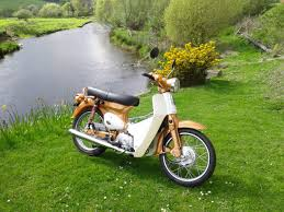 who is driving a super cub c90club co uk