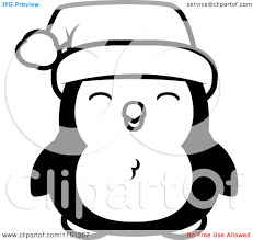 cartoon penguin coloring page free download