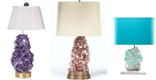 rock crystal lamps hadley court interior design blog