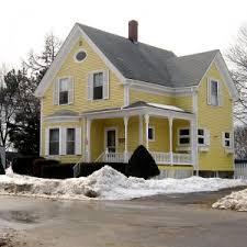 yellow house white trim white shutters so simple yellow