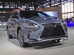 lexus rx redesign years lexus rx sharpens edgy styling cars nwitimes com