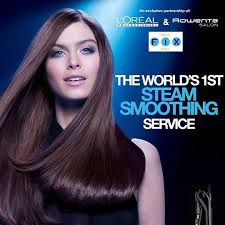 partnership in hair salon l oreal introduces steod a revolution in hair smoothing my