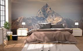 bedroom decor bedroom wallpaper scenery wallpaper mountain