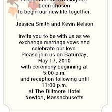 wedding invitation wording examples dancemomsinfo com