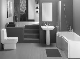 excellent ideas small bathroom designs displaying a modern white