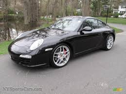 porsche s 2009 2009 porsche 911 s coupe in basalt black metallic 721173