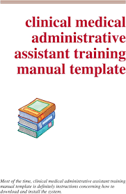 training manuals templates virtren com