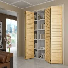 Bi Folding Closet Doors Closet Door Bi Fold Louver Louver Plantation 36x80 Closet