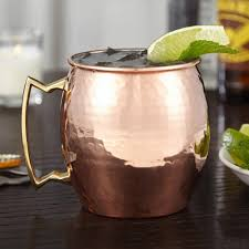 handmade mugs amazon com hammered copper moscow mule mug handmade of 100 pure