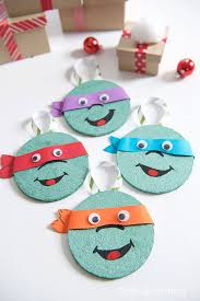diy coaster tmnt ornaments