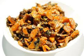 cuisiner des carottes la poele recette carottes et chignons poêlés à la crème menu by menu