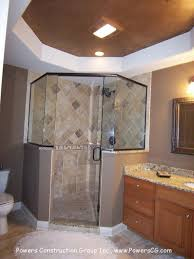 Corner Shower Bathroom Designs Simple Master Bathroom Corner Showers On Decorating Ideas