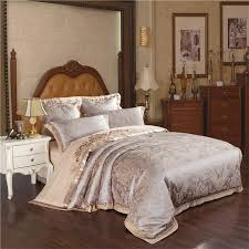best sell gold and brown bedding wedding gift duvet cover set