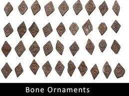 4 000 year bone jewels capstone found near hyderabad oneindia