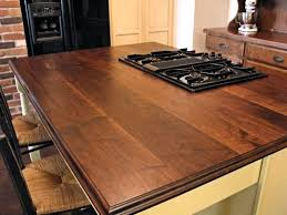 kitchen island tops reclaimed wood kitchen island tops with gas range top and walnut