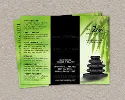 9 best images of free massage brochure template massage brochure