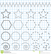 Free Printable Shapes Worksheets Handwriting Practice Sheet Educational Children Game Printable