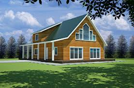 cabin plans free sample cabin plan h235 1260 sq ft 1 bedroom 1 bath main 600