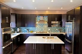 dark cabinets and dark floors the most impressive home design