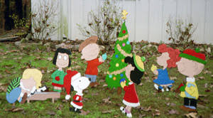peanuts characters yard decorations rainforest islands