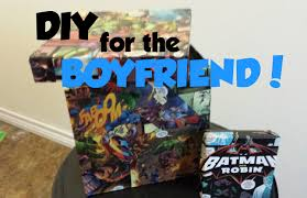 diy comic book gift box for the boyfriend youtube