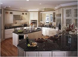 dark kitchen cabinets with white granite countertops 3457 home