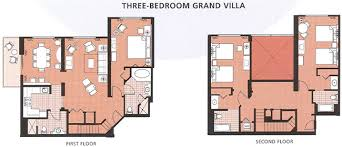 saratoga springs treehouse villas floor plan saratoga springs resort three bedroom grand villa