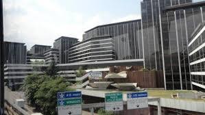 bureaux de la colline cloud bureaux de la colline église arrêt de immeuble commercial
