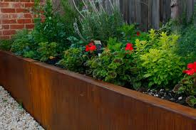 download corten steel retaining wall solidaria garden
