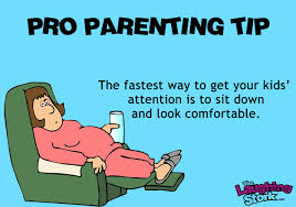 ecards for kids pro parenting tip how to get your kids attention the laughing