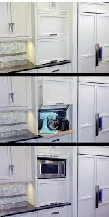 garage door for kitchen cabinet clear counter clutter 10 inspiring appliance garages