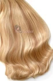 Blonde Weft Hair Extensions by Sandy Blonde Superior Seamless 22