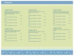 best restaurant menu templates free download word photos resume