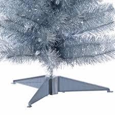 3 slim pre lit silver pencil tree kmart