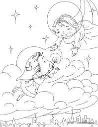 the sheperdess and the chimney sweep coloring pages hellokids com