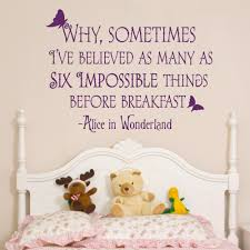 Alice In Wonderland Inspired Home Decor Compare Prices On Alice Wonderland Quotes Wall Art Online