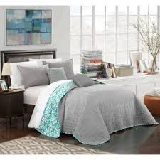 Gray And Turquoise Bedding Coral And Gray Bedding Wayfair