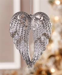 silver wings ornament gifted boutique and wrappery