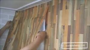 how to hang self adhesive wallpaper on walls by wallstickery com