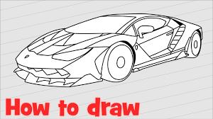 lamborghini logo sketch drawn lamborghini line drawing pencil and in color drawn